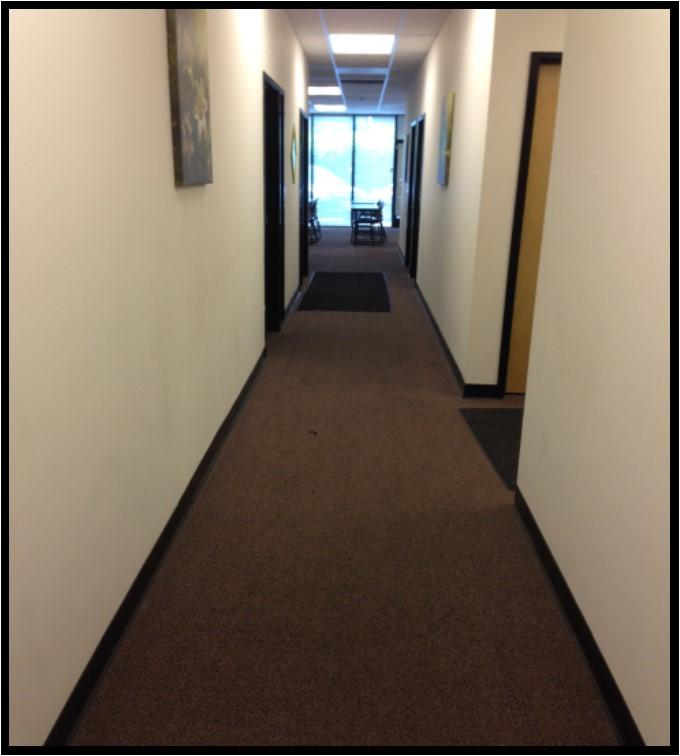 A-105 hallway